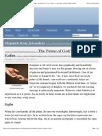The Palms of God's Hands—Kafim