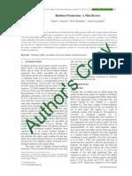 Biodiesel Production- A Mini Review-libre