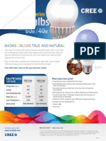 LED Bulb Data Sheet