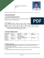 Resume (Md. Saiful Islam)