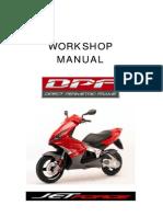 Peugeot JetForce Workshop Manual