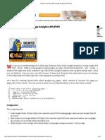 Display Top URLs With Google Analytics API (PHP)