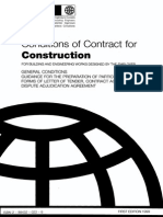 Conditions of Contract for Construction by FIDIC