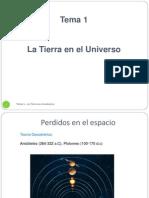 Tema 1 La Tierra en El Universo (1)