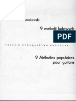 Lutoslawski, Popular Melodies