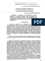 El Derecho Informático - Prof. Espinoza Cespedes