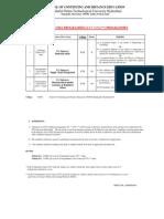 P G. Diploma Programmes CC CCC Programmes