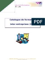 Catalogue de Formation Inter-Entreprises 2010