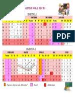Calendar Scolar Structura An