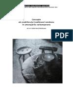 Gabriel-ionut Mandriscanu Concepte Ale Mobilierului Traditional _completat_ -Pentru Doctorat