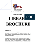 AMACCFV Lib - Library Brochure