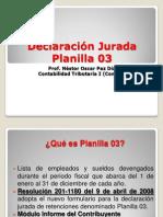 Declaracion Jurada Plan 03