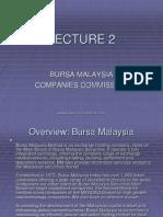 Lecture 2 Bursa Malaysia