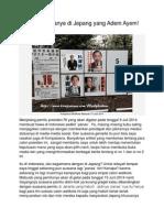 Weedy, 2014 06 12, HL, Melihat Kampanye Di Jepang Yang Adem Ayem