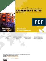 Backpacker's Note