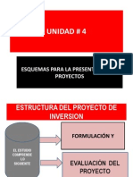 UNIDAD 4 Esquema Para La Presentación de Proyectos Gerencia 1