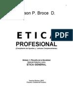 42564722 Etica Profesional Folleto Actualizado a Septiembre 2010