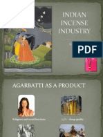 Indian Incense Industry