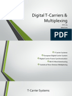 Digital T-Carriers & Multiplexing