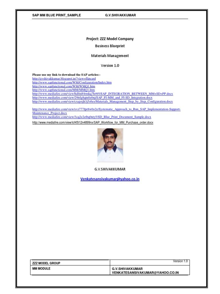 Sap mm business blue printsample inventory invoice malvernweather Choice Image