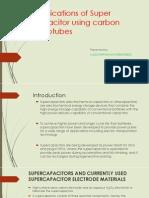 Super Capcitor presentation