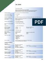 Technical Data FinalABBETL600