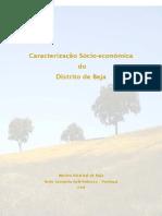 Caracterização Socio Económica Distrito de Beja - 2008