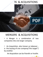 Merger and Aquisition