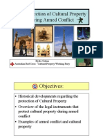 The Protection of Cultural Property During Armed Conflict