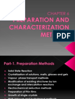 Chapter 6-Synthesis and Characterization Methods