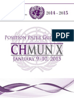 Model UN - Position Paper Guidelines