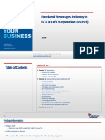 Food and Beverages Industry in GCC (Gulf Co-operation Council)_Feedback OTS_2014