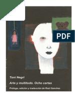 TONI NEGRI _ a Arte y Multitudo Ocho Cartas 2000