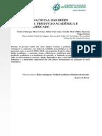 o Panorama Nacional Das Redes Estratégicas