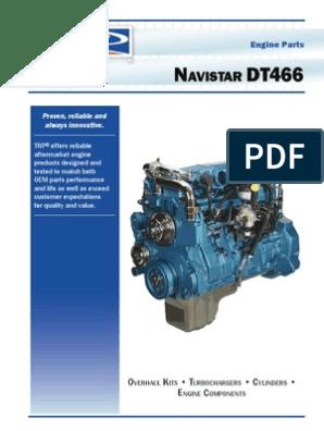 navistar dt466 engine catalog cylinder (engine) fuel Navistar Maxxforce Dt Engine Diagrams section 5 – maintenance schedule and