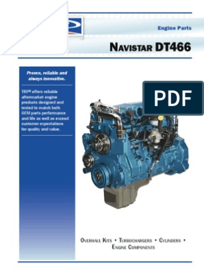 [SODI_2457]   Navistar DT466 Engine Catalog | Cylinder (Engine) | Fuel Injection | International Dt 466 Engines Diagrams |  | Scribd