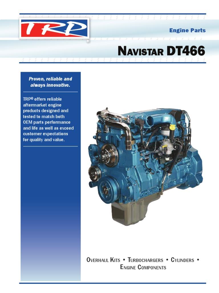 Wiring Diagram International Dt466 Engine International 4300 Dt466