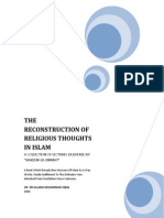 The Reconstruction of Religious Thoughts in Islam