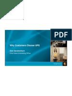 UPS Why Customers Choose