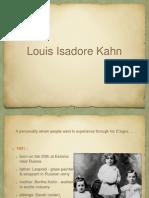 Biography of Louis I Kahn