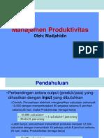 Pengukuran Produktivitas Perusahaan