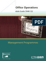 Front Office Operations (2009)
