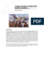 Causas Del Fracaso de La Operación Market Garden