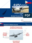 Medium Lift Tactical Aircraft C-27J 2007