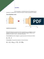 Área y Volumen de Un Prisma