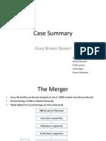 OB Case Summary