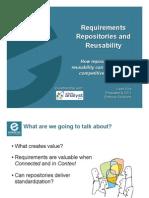 Requirements Repositories EnfocusSolutions 1