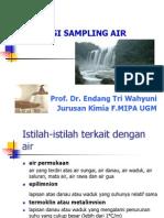 Teklnik Sampling Air