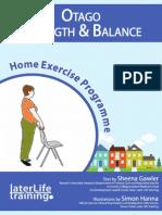 Otago Home Exercise Programme