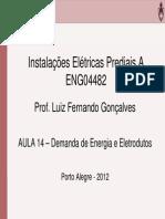ENG04482 Aula 14 Demanda de Energia